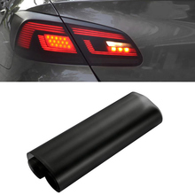 Car-Styling 30*150cm Matt Smoke Light Film Car Matte Black Tint Headlight Taillight Fog Light Vinyl Film Rear Lamp Tinting Film 30 60cm car styling auto tint headlight taillight fog light vinyl smoke film vinyl car wrap