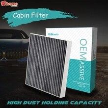 รถเกสร AC Cabin Air Filter สำหรับ Hyundai Creta IX25 Kona OS Tucson TL Kia Rio 4 Sportage QL Stonic YB 97133 D1000 97133 D3000