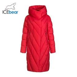 Icebear 2019 Nuovo Inverno Lungo Delle Donne Giù di Modo Del Rivestimento Caldo Del Rivestimento Delle Donne Delle Donne di Marca di Abbigliamento GWD19149I