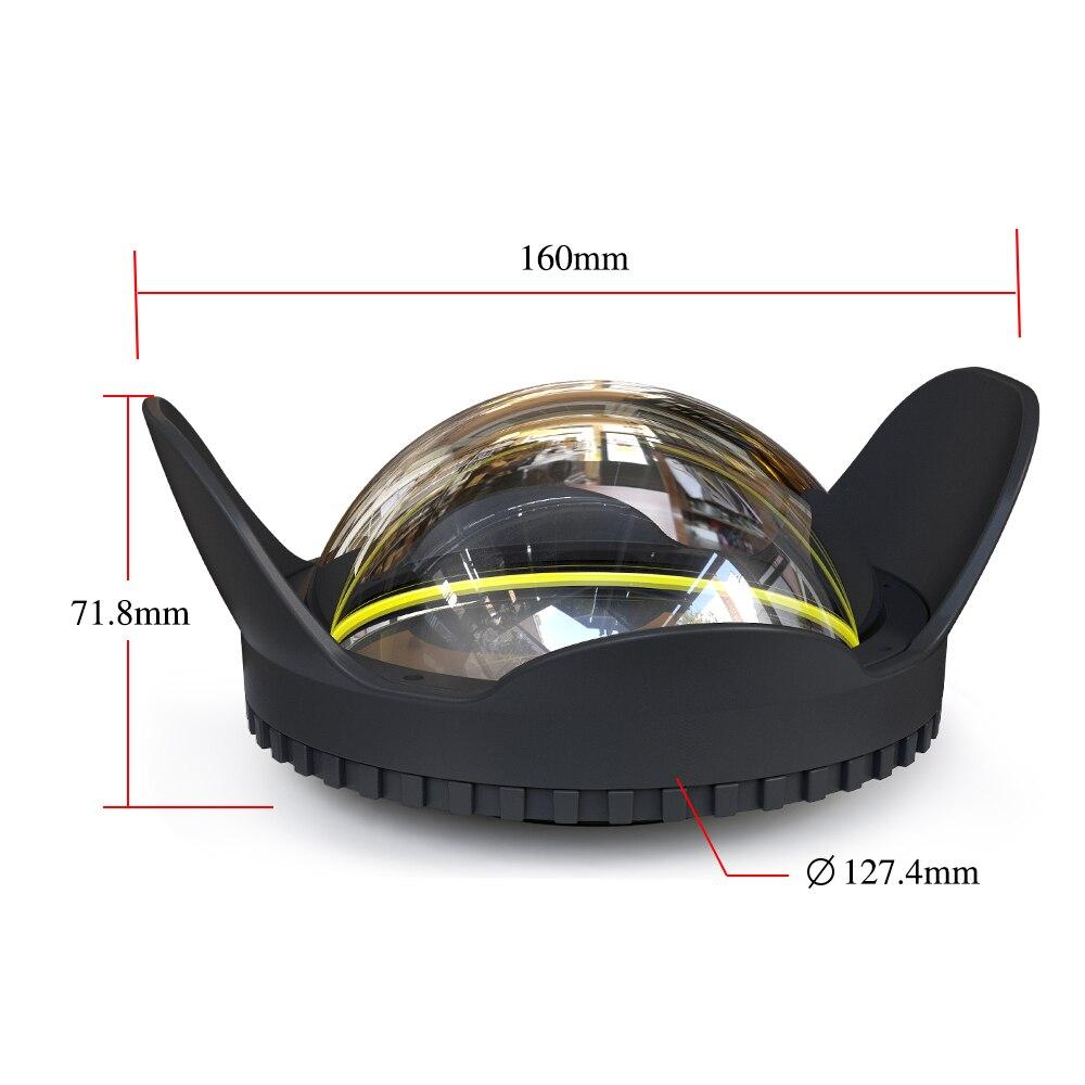 Filtre antireflet optique d'ombre de lentille de Fisheye pour tous les DSLR ILDC caméra microéperon 67mm Interface 0.7 Coefficient d'amplification-in Sacs pour appareil photo from Electronique    3