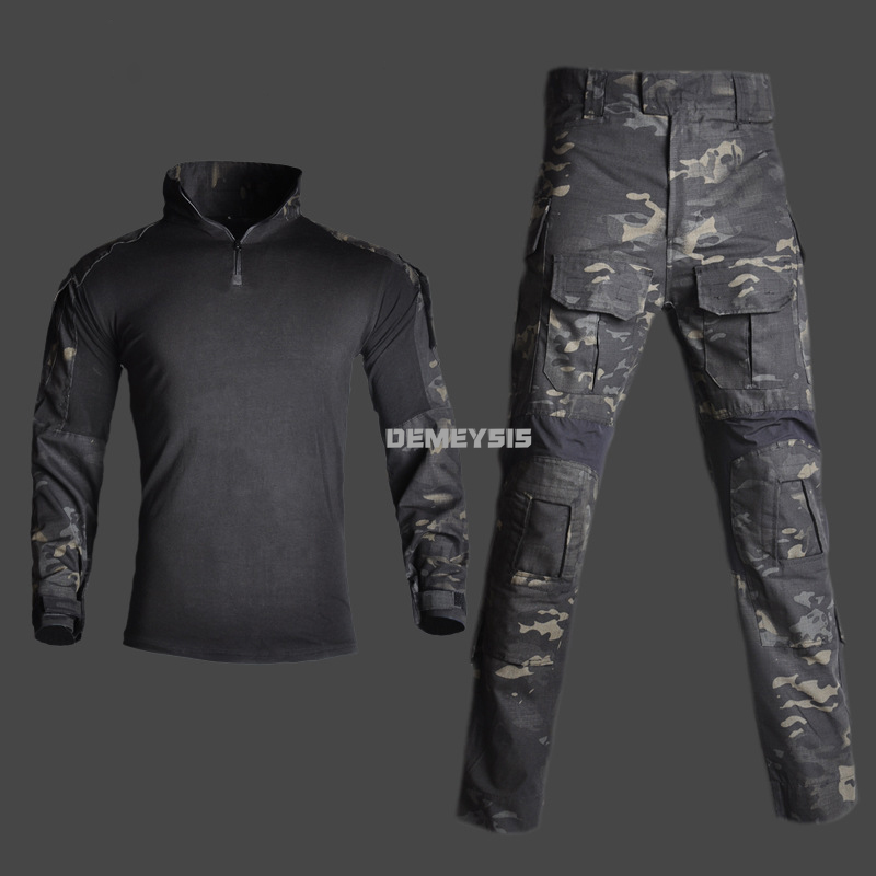 Combat Clothing Tactical Shirts or Pant Airsoft Paintball Army Cs Wargame Hunting Uniform Military Combat Shooting Clothes Men