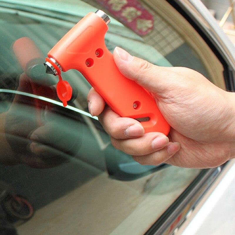 Escape Tool Car AUTO Life-Saving Hammer Belt Cutter Window Seat Safety Emergency FKU66