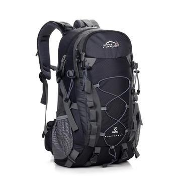 40L plecak męski Camping piesze wycieczki plecaki trekkingowe plecak podróżny wodoodporna torba taktyczna kobiety mężczyźni torba wspinaczkowa o dużej pojemności tanie i dobre opinie HAIMAITONG CN (pochodzenie) Unisex Miękka osłona POLIESTER SMFA443Black Trekking Climbing Bag Backpack Backpack camping