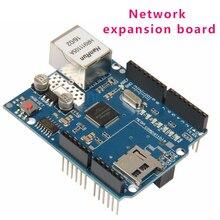 W5100 Mega W5100 sd-карта Arduino расширение для Arduino W5100 Ethernet совместимая Sd карта расширения