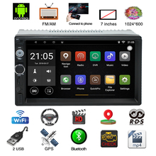 7 inch Car Radio Touch Android Player MP5 Player Auto Radio Bluetooth Rear View Camera