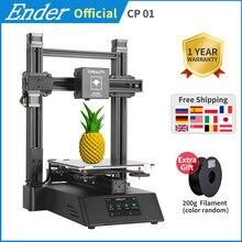 Più nuovo CP-01 3D Stampante Laser di CNC Incisione di Taglio Funzione 3 In 1 Touch Screen 3d Stampante Kit Fai Da Te 5500mw creality 3D
