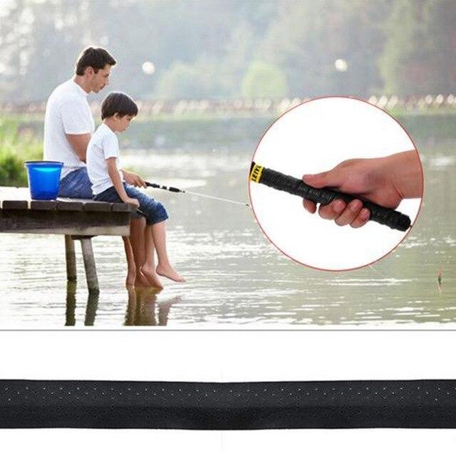 Fishing Rod Handle Wraps Anti-slip Sweat Absorbent Wrapping Belt Fishing Rod Grip Non-slip Tape 2