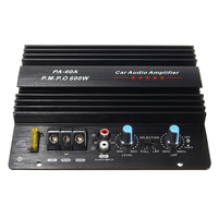 Aluminum 600W High power in car entertainment Car Audio for Momo Amplifier Board Car Home Subwoofer Super Bass Working 12V