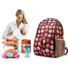 2019 New Diaper Bag Pure Color Mens Mummy Baby Care Nappy 39CM Large Capacity Waterproof Business Backpack Travel
