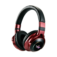 led music LED Light Wireless Bluetooth Headphones 3D Stereo Sound Earphones Headsets music Gaming Earbuds Support TF Card FM Mode Audio (1)