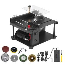 Saw-Cutter Table-Saw Acrylic-Cutting Wood Desktop Circular Multifunctional Electric Mini