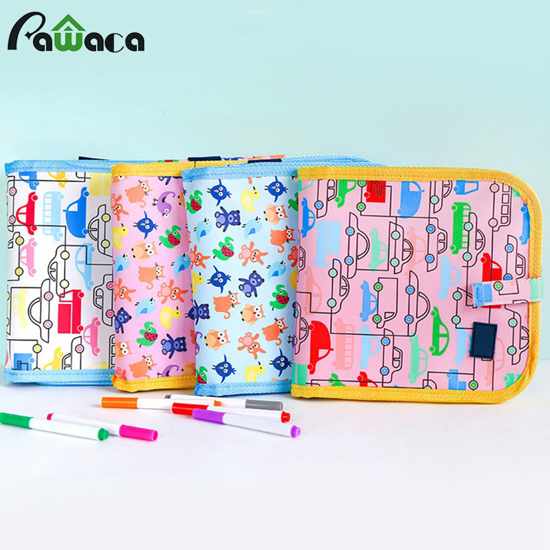 Erasable Drawing Pad Ingersara Book Kids Doodle Scribble Boards  Board 14 Page For Toddlers Doodle Sketch Pad Drawing Writing