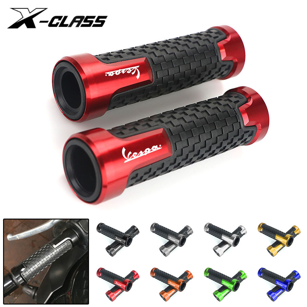 Motorcycle Hand Grips Cover Handle Bar Guards Rubber Gel Protector For Piaggio Vespa GTS GTV 250 300 Sprint Primavera 150 LX LXV
