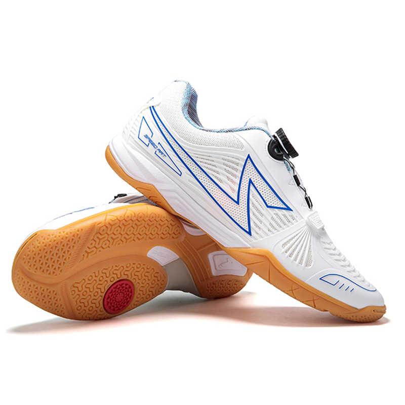 Zapatos de tenis de mesa originales para hombre, zapatos deportivos antideslizantes de estabilidad para hombre, Zapatillas Deportivas para Mujer, raqueta de ping pong