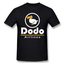 Linha aérea dodo casual t camisa venda quente animal crossing novos horizontes camiseta 100% algodão o pescoço camisetas