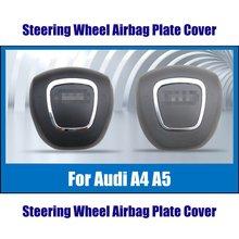 Auto Horn SRS แผ่นสำหรับ Audi A4/S4/A5/S5พวงมาลัย3 Spoke Cover รถ Suspension เปลี่ยนพวงมาลัยฮับ