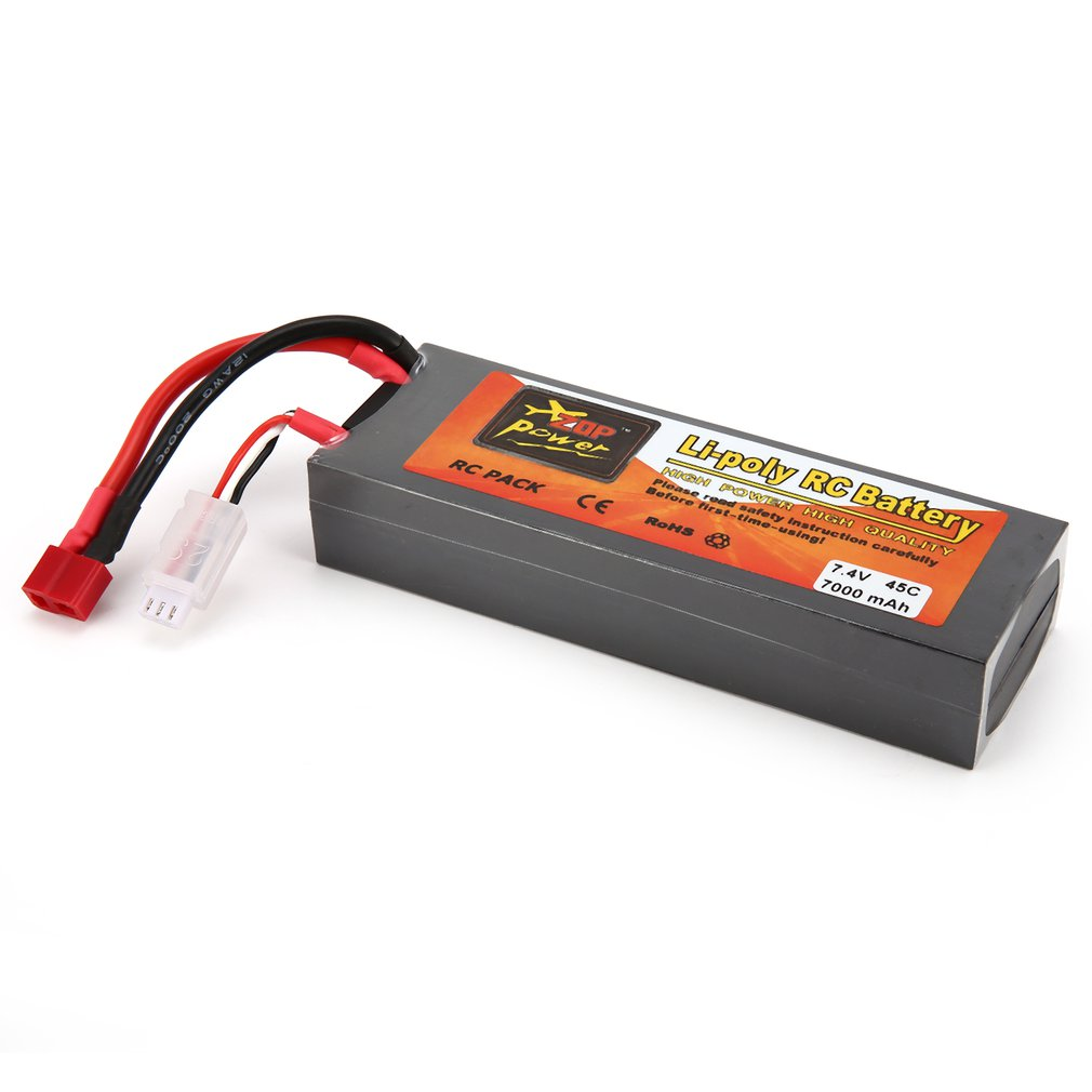 ZOP Power 7.4V <font><b>3300mAh</b></font> 5000mAh 5500mAh 7000mAh 8000mAh 6000mAh 30C 40C 45C 65C <font><b>4S</b></font> 1P <font><b>Lipo</b></font> Battery XT60 Plug for RC Drone Car tz image