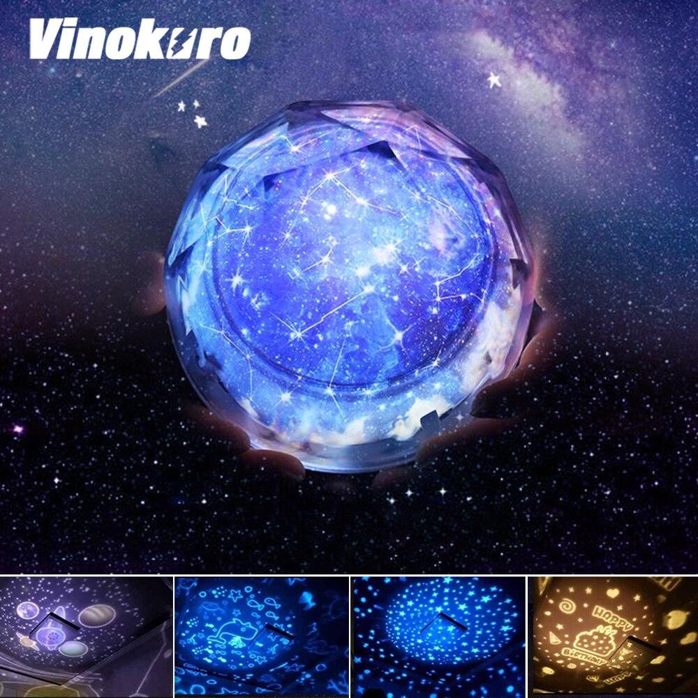 Купить звездное небо ночсветильник проектор лампа вселенная светодиодная