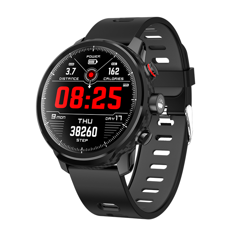 <font><b>L5</b></font> <font><b>Smart</b></font> <font><b>Watch</b></font> <font><b>Men</b></font> <font><b>IP68</b></font> Waterproof Multiple Sports Mode Heart Rate <font><b>Smart</b></font> Band Bluetooth Smartwatch Standby 100 Days image