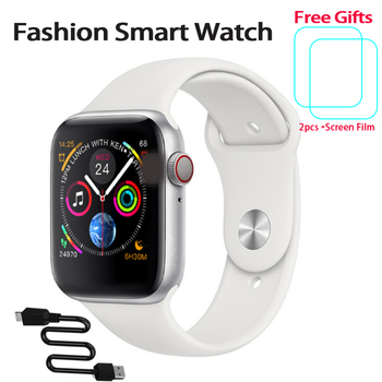 цена на W34 Bluetooth Smart Watch Series 4 5 Heart Rate Fitness Monitor Bluetooth Call Smartwatch for Apple Android Smart watch IOS