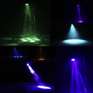 Image 5 - جديد كبير النحل العين 7x15 واط LED تتحرك رئيس التكبير وظيفة DMX 512 غسل أضواء RGBW 4IN1 شعاع تأثير ضوء حفلة/بار/DJ/المرحلة الإضاءة