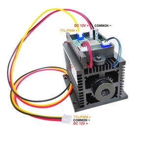 Высокая мощность лазерная головка модуль 15 Вт диод гравер машина Принтер ЧПУ Резак части с ttl ШИМ для гравировки резки diy