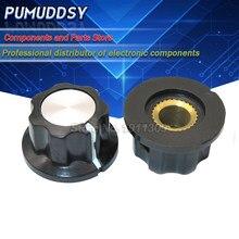10 pces MF-A01 baquelite potenciômetro botão tampa diâmetro 19.5mm com furo rv16 3.2mm