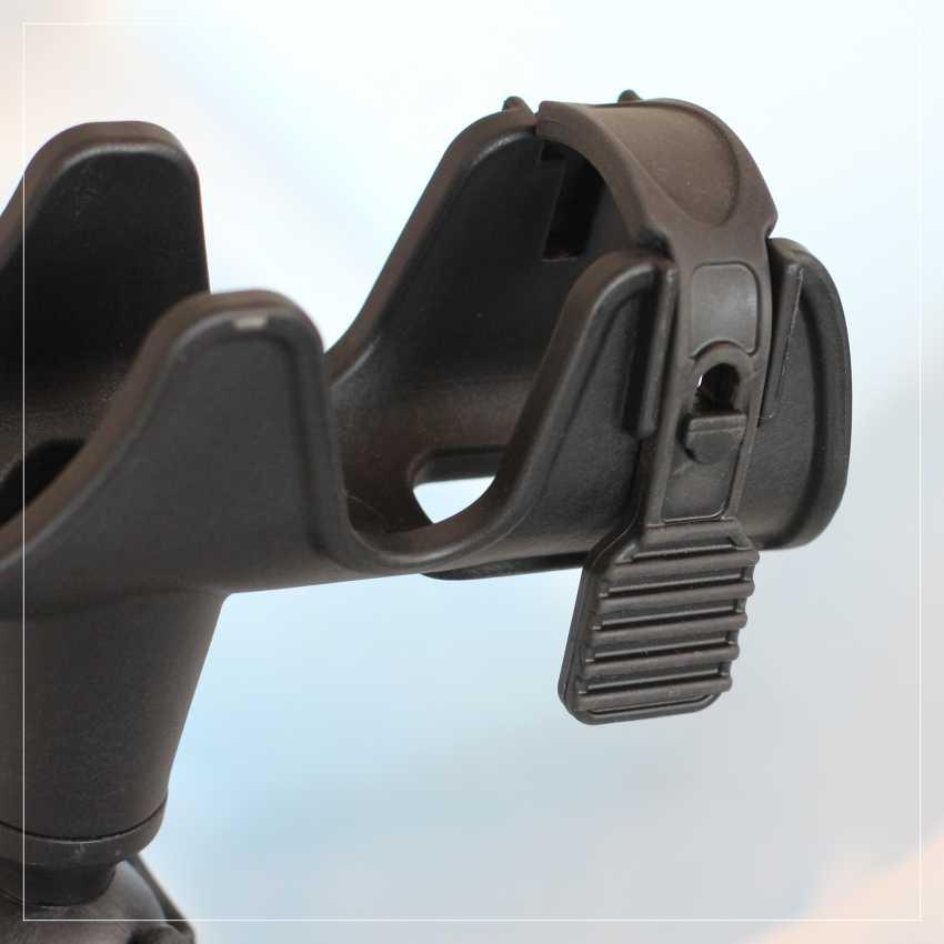 Soporte de cañas de pesca para caña de pescar ajustable de 360 grados