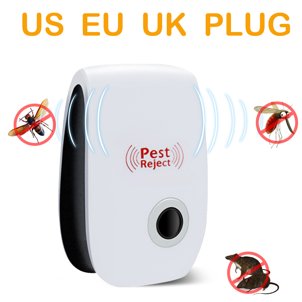 Mosquito Killer Lamp Rodent Control Indoor Cockroach Insect Killer Ultrasonic Pest Repeller Electronic Repellent Dropshipping