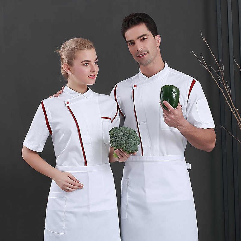 XXXXL Unisex Köche Catering Köche Küche Kellner Einheitliche Hosen Hose XS