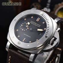 Automatic OUMASHI Fashion Luxury Brand 47mm Watch Men Mechan