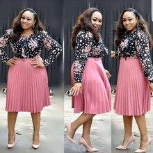 African Dresses For Women Plus Size Print Ankara Dress Clothes Africian Womens 2019
