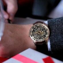 AGELOCER Reloj 2019 Swiss Black Skeleton Men Watch Leather Sport watches Power Reserve 80H Clock Wristwatch Relogio Masculino