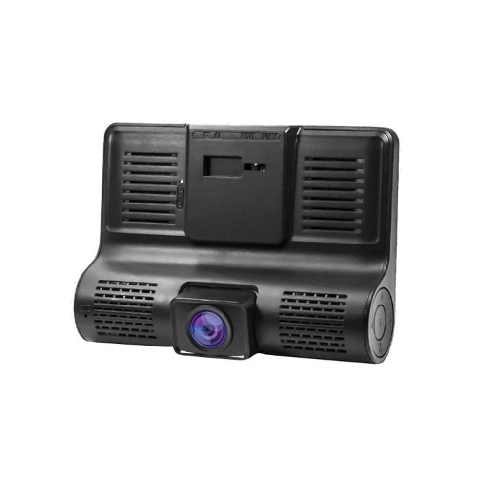 רכב החדש DVR 3 מצלמות עדשת 4.0 אינץ דאש מצלמה כפולה עדשה עם Rearview המצלמה וידאו מקליט אוטומטי Registrator Dvrs דאש מצלמת