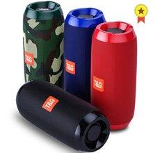 Portable Bluetooth Speaker 20w Wireless Bass Column Waterproof Outdoor USB Speakers Support AUX TF Subwoofer Loudspeaker