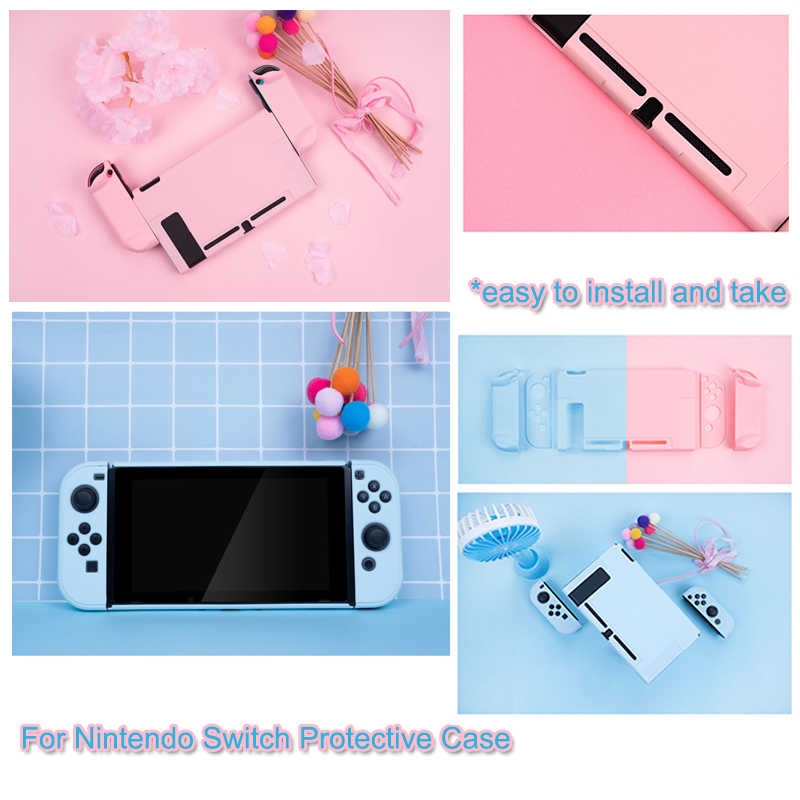 For Nintendo Switch Console Protective Case Cover Shell Nintend Switch NS Joy Con Controller Protective Housing Shell case Cover|Cases| |  - title=