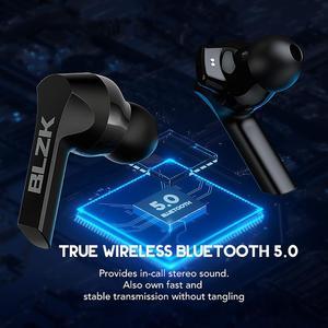 Image 5 - BLZK TWS Bluetooth Kopfhörer 2200mAh Lade Box Drahtlose Kopfhörer 9D Super Bass Sport Wasserdichte Ohrhörer Headsets Langlebig