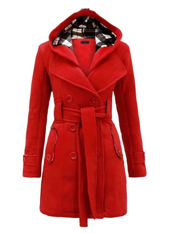 Long Coat Women Dovetail  Stylish Lapel Office Wear Plus Size Autumn Ladies Simple Elegant Casual Overcoats