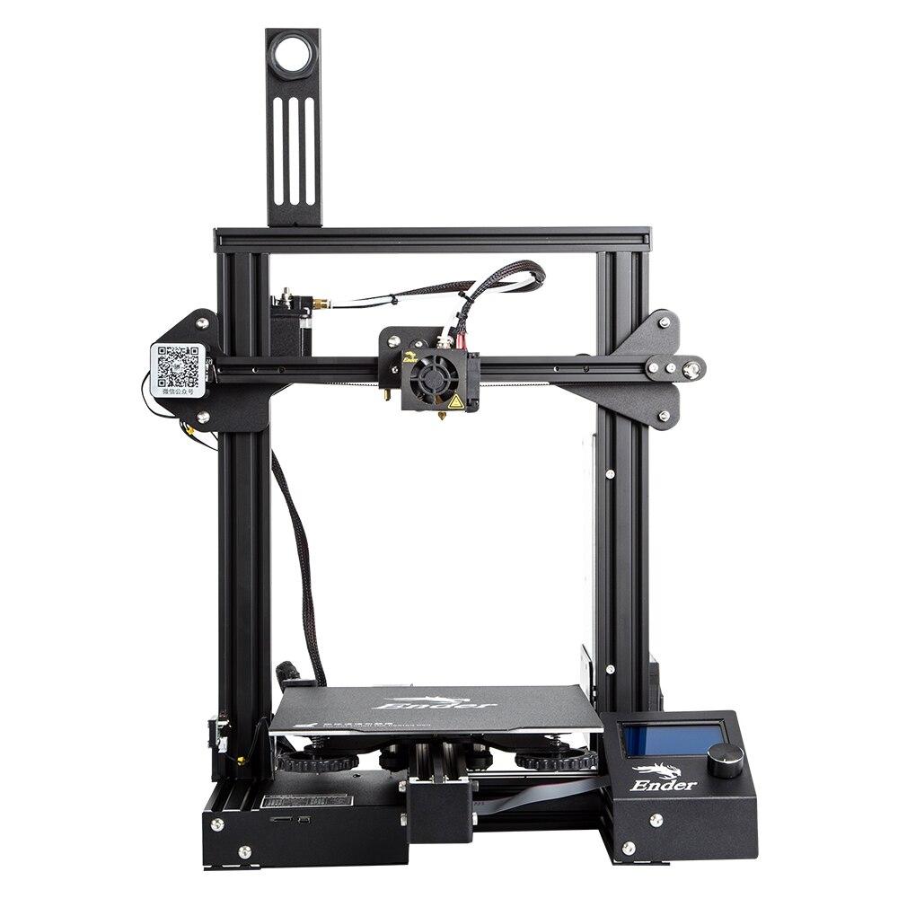 Creality impressora 3d Ender-3 pro v-slot prusa i3 open source impressora montagem rápida de alumínio de metal completo para uso doméstico e escolar