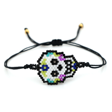 Go2boho MIYUKI Bracelet Women Mexican Skull Pulseras Mujer Moda 2019 Child Girl Bracelets Armband Fashion Skull Jewelry Bohemian
