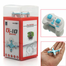 CX-10 Remote Control RTF Micro Drone 2.4G 4CH 6 Axis LED Mini RC Nano Quadcopter Pocket Toy Luxuxy Model for Collection  eachine 4pcs engines motor 2cw 2ccw for cheerson cx 33 cx 33c cx 33w cx 33s remote control quadcopter rc drone spare parts