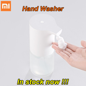 Image 1 - Original Xiaomi Mijia automatic Induction Foaming Hand Washer Wash Automatic Soap 0.25s Infrared Sensor For Smart mi Homes