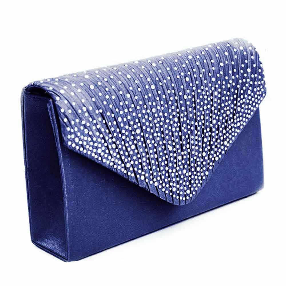 Senhoras novas Senhoras Embreagem Saco de Noite de Seda Nupcial Diamante Partido Prom Envelope Sacos de Ombro Crossbody bolsa feminina # RJ1