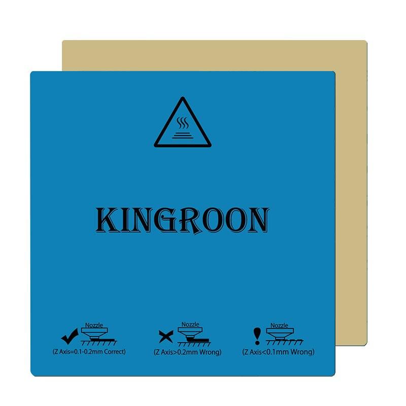kp3 impressora 3d calor papel flexivel magnetico 2 camada impressao heatbed etiqueta impressora 3d plataforma cama