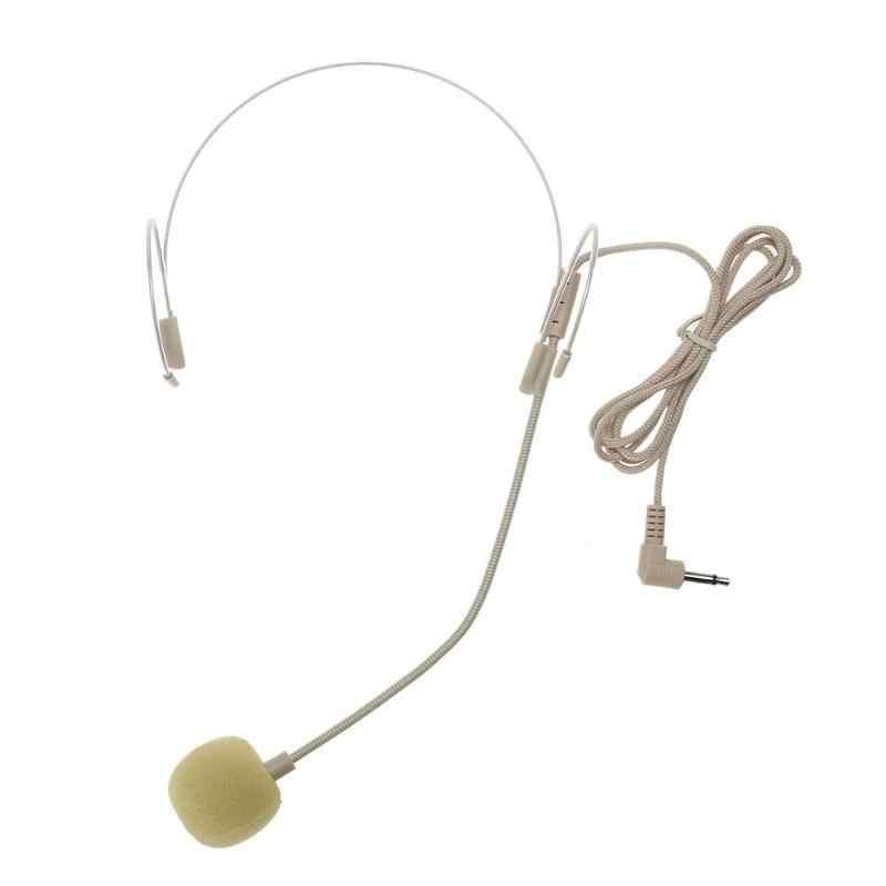ชุดหูฟังที่มองไม่เห็น Headworn ไมโครโฟนครูทัวร์ท่องเที่ยวประสิทธิภาพไมโครโฟนสำหรับ STAGE ลำโพงเครื่องขยายเสียงทีวี