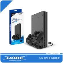 Dobe TP4 19061 PS4/PS4 Slim/PS4 PRO 용 다기능 스탠드 허브 충전 스탠드