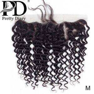 Бразильские волнистые волосы 13х4, кружевные фронтальные волосы, узлы, отбеленные с ребенком, 100% натуральные волосы Remy для наращивания