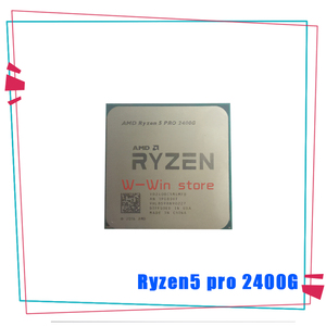 Image 2 - AMD Ryzen 5 Pro 2400G R5 Pro 2400G 3.6 GHz Quad Core Quad Thread 65W CPU Processor YD240BC5M4MFB Socket AM4