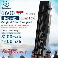 Golooloo 6CELL yeni Laptop pil Samsung AA PB9NS6B PB9NC6B R580 R540 R519 R525 R430 R530 RV511 RV411 RV508 R528 aa Pb9ns6b