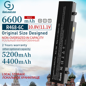Image 1 - Golooloo batterie pour ordinateur portable 6 cellules, pour Samsung AA PB9NS6B PB9NC6B R580 R540 R519 R525 R430 R530 RV511 RV508 R528 Aa Pb9ns6b, nouvelle collection